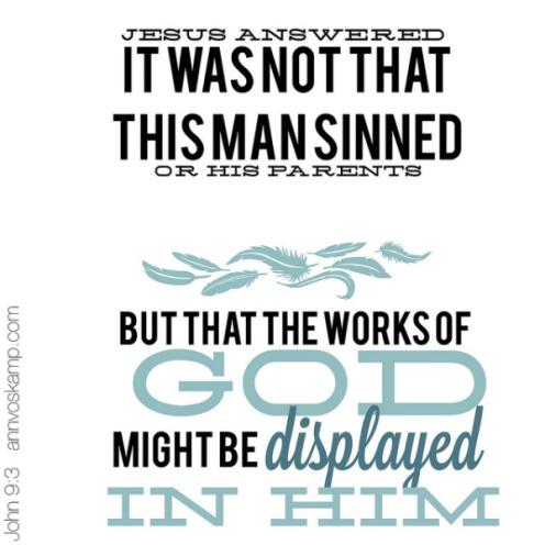 John 9 1-3