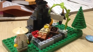 Lego Abraham and Isaac