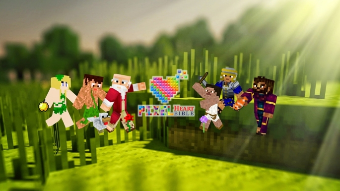 Minecraft Bible site