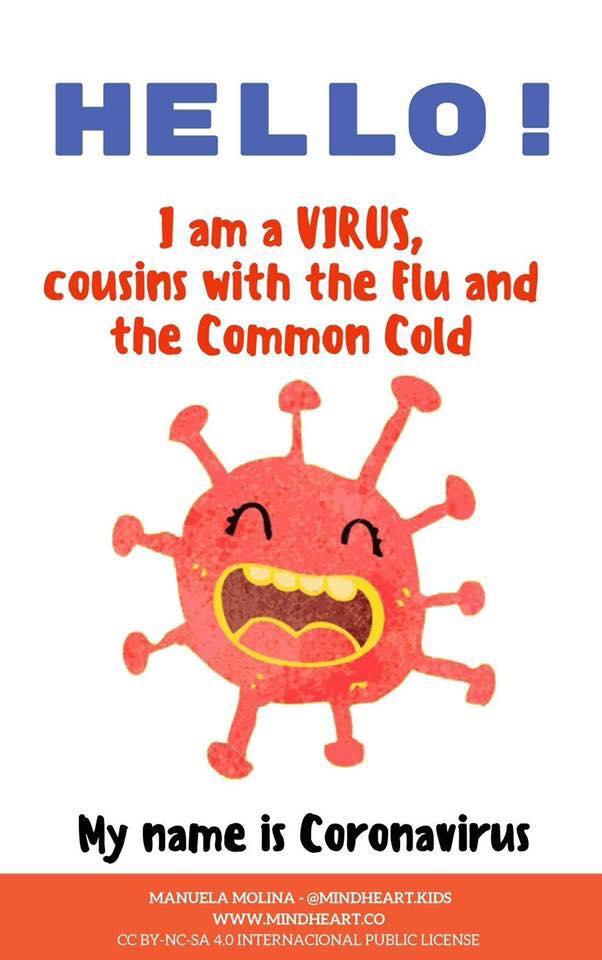 Hello I'm Coronavirus