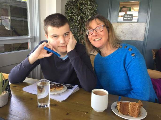Clare and James at Compton Abbas 04-05-19